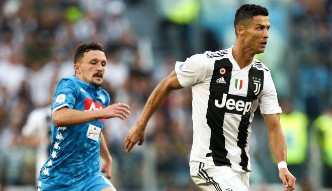 Foto: Juventus Torino câștigă pe terenul celor de la Napoli