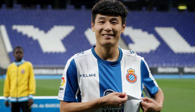 Foto: Wu Lei, primul chinez marcator în campionatul Spaniei