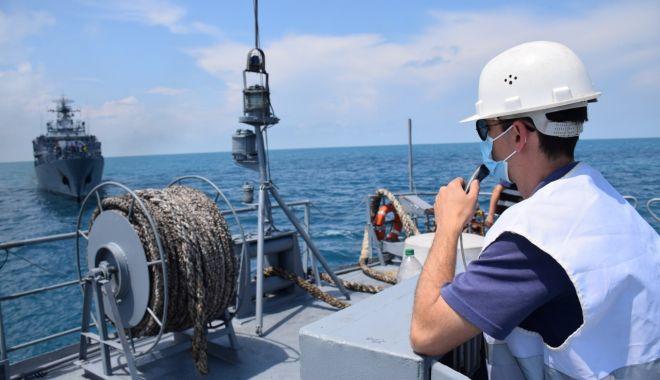 Foto: Misiune îndeplinită! Tragerile de luptă și acțiunile de instruire pe Marea Neagră, la final