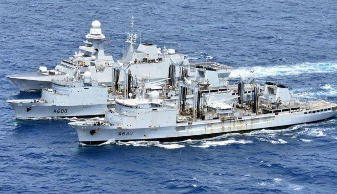 Foto: Cooperare româno-franceză în domeniul militar naval