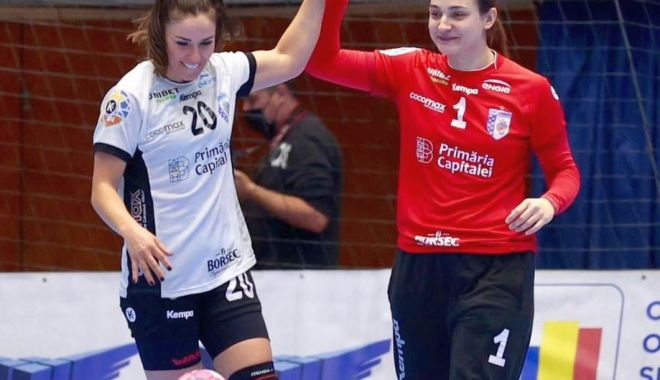 Handbal / Liga Naţională feminină, meciuri în devans. Rezultate şi clasament - handbalmeciuri-1622462076.jpg