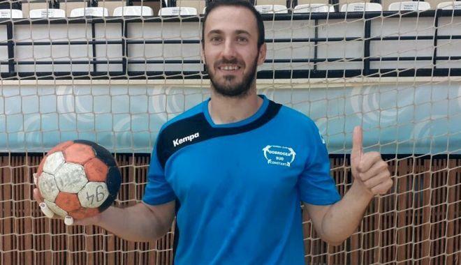 Foto: HCDS așteaptă meciul cu HC Victor Stavropol. Onur Ersin, gata de debut