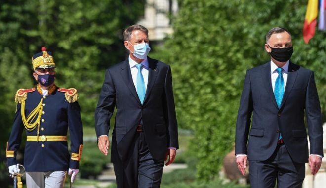 Klaus Iohannis și președintele Poloniei vor prezida Summitul B9 - iohannisduda-1620658362.jpg
