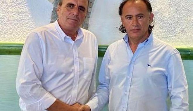 Foto: Mohammad Murad şi Zanfir Iorguş: ÎMPREUNĂ PENTRU MANGALIA!