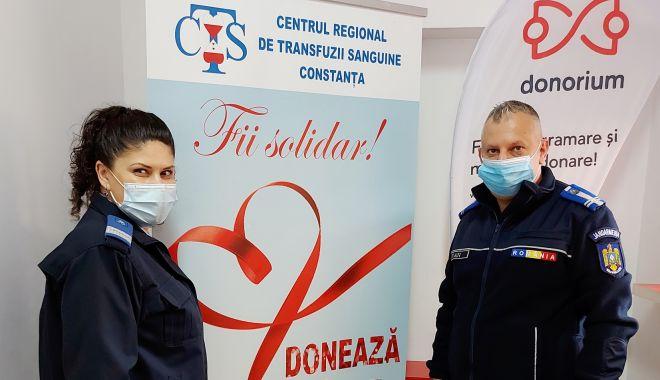 Jandarmii din Constanța - donatori de sânge, donatori de viață! - jandarmidonareprint2-1617726455.jpg