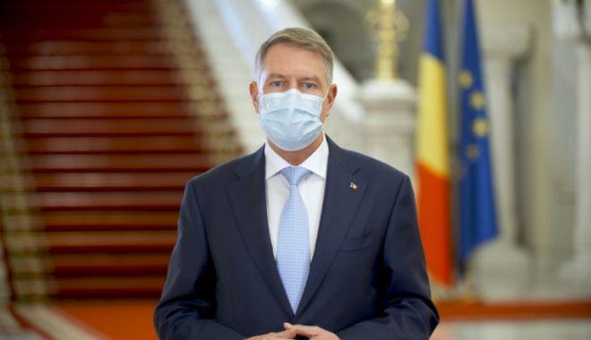 Klaus Iohannis mulțumește românilor pentru