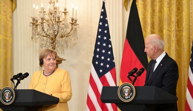 Joe Biden şi Angela Merkel promit că vor lucra împreună împotriva agresiunilor Rusiei şi Chinei - joebidensiangelamerkel-1626459965.jpg