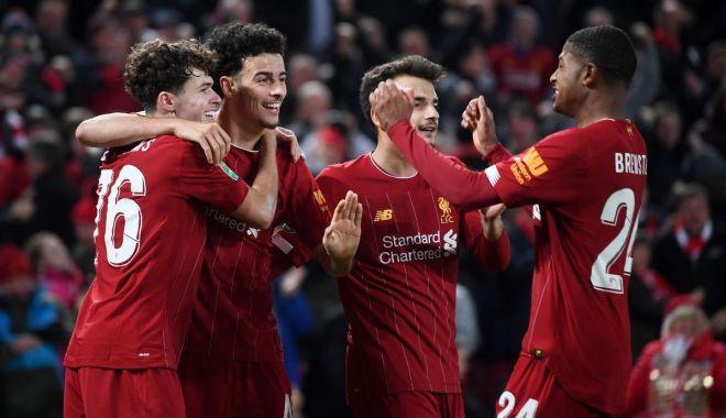 """Foto: Ce meci nebun! Liverpool și Arsenal au făcut spectacol pe """"Anfield"""""""