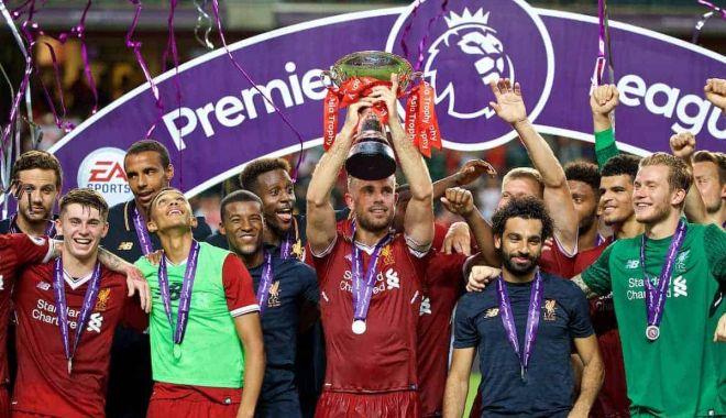 Foto: Liverpool, campioană în Premier League după 30 de ani