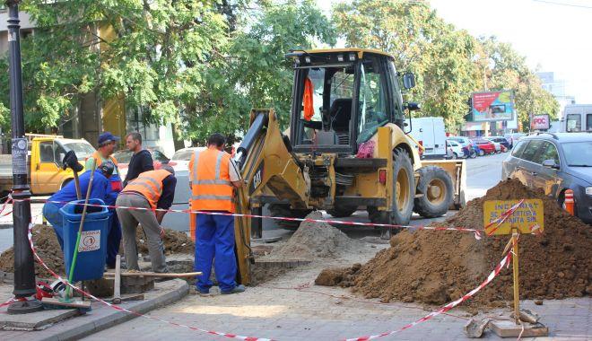 Atenție, șoferi! Trafic blocat pe strada Nicolae Iorga din Constanța. Se lucrează la conductele de apă - lucrarideranjamenteraja2-1594798504.jpg