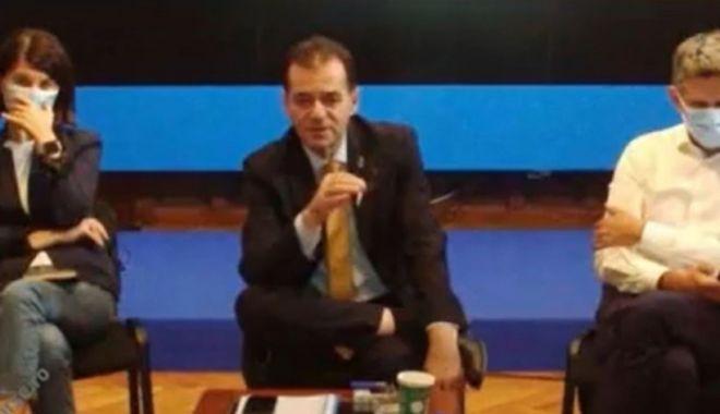 Ludovic Orban surprins fumând la ședință, în timp ce colegii lui purtau mască de protecție - ludovic-1631810109.jpg
