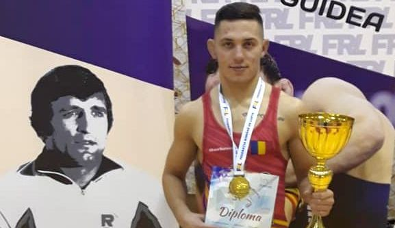 Foto: Luptătorul Răzvan Arnăut, de la CS Farul, o speranţă la medalie olimpică