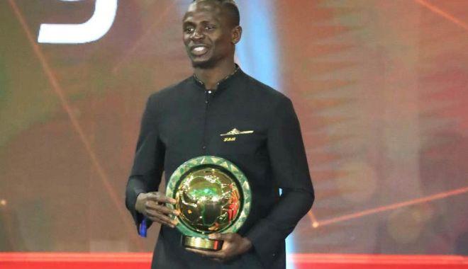 Foto: Sadio Mane, jucătorul anului 2019 în Africa