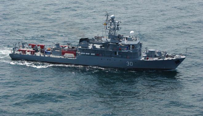 Foto: Marinarii militari români, într-un nou exercițiu multinațional, în Marea Mediterană