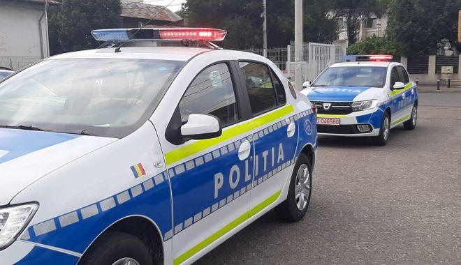 MAȘINĂ DE POLIȚIE, lovită în plin, într-un accident rutier în Ciocârlia - masinidepolitie-1626615841.jpg