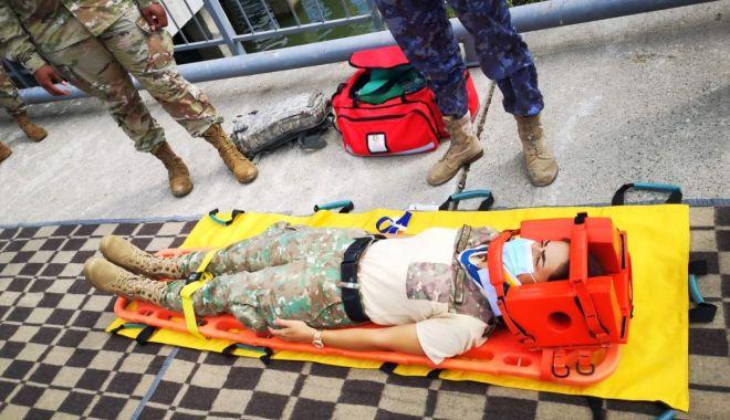 Foto: Activitate de pregătire medicală, în Delta Dunării