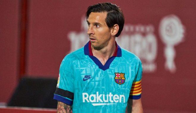 Foto: Lionel Messi, la un pas de o bornă istorică