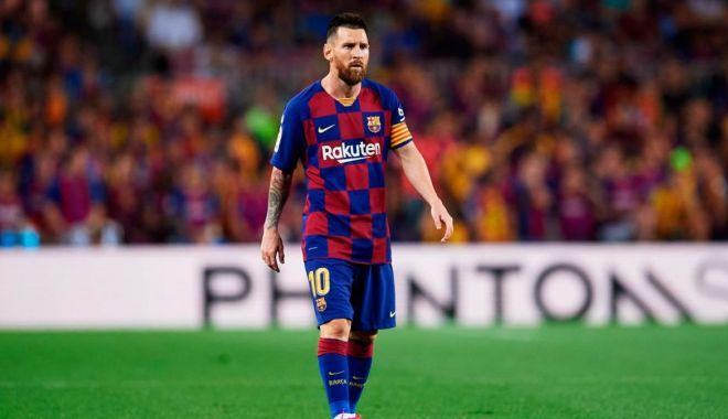 """Foto: Președintele celor de la FC Barcelona promite că Messi va rămâne pe """"Nou Camp"""""""