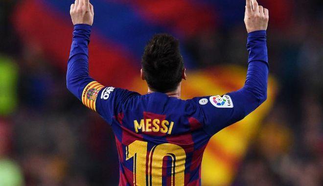 Foto: Moment de magie pe Camp Nou. Lionel Messi a făcut spectacol