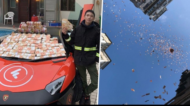 Un milionar a aruncat cu bani de la etajul 8 al unui bloc dintr-un cartier sărac - milionarcontroversat08006700-1545150635.jpg
