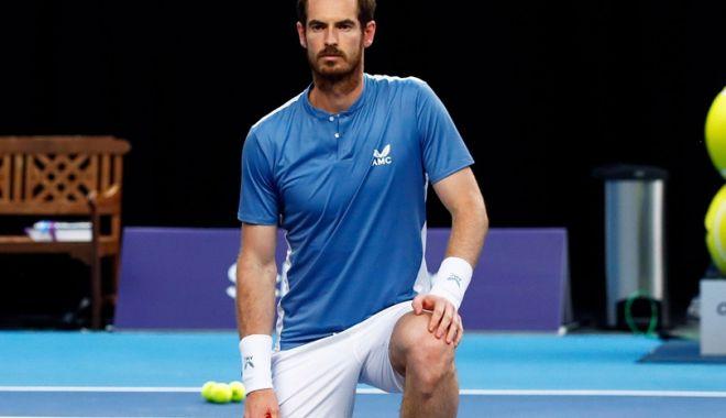Foto: Andy Murray se pregătește moral pentru US Open