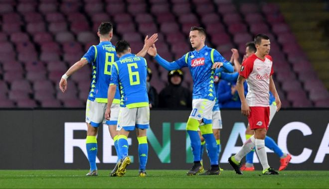 """Foto: Napoli și Chelsea, cu un pas în """"sferturile"""" Europa League"""