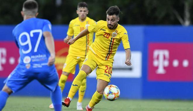 Foto: Naționala României U21 a umplut poarta Farului