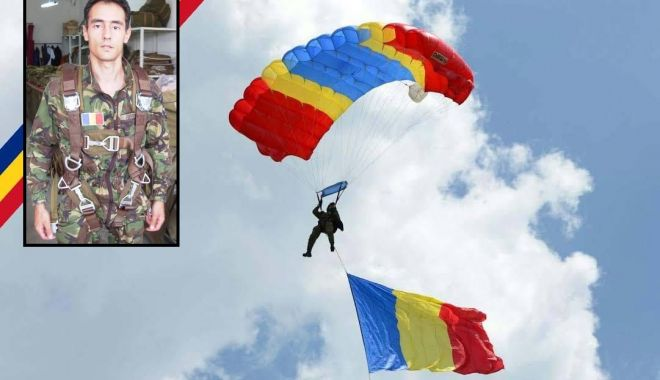 Foto: RIP, caporal Cristinel Jianu. Ultima parașutare: un an de la tragedia de la Clinceni