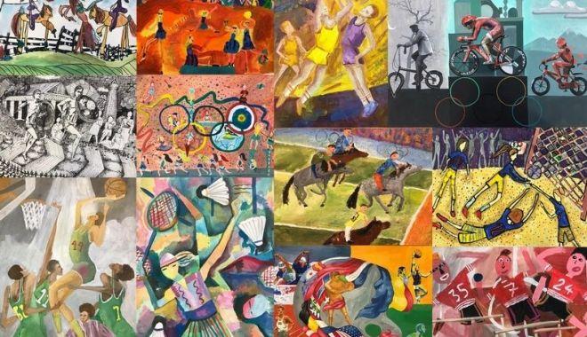 """Olimpism / Concursul naţional """"Jocurile Olimpice în imaginaţia copiilor"""", online - olimpism-1603794012.jpg"""