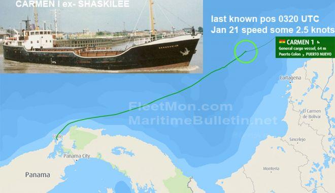 O navă a dispărut în apropierea Insulelor Caraibe - onavaadisparutinapropiereainsule-1611649214.jpg