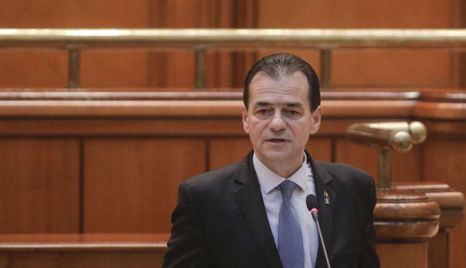 """Ludovic Orban: """"PNL îşi doreşte o formă de guvernare stabilă"""" - orbandeclaratieparlamentare-1606848984.jpg"""