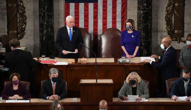 Congresul SUA a confirmat alegerea lui Joe Biden. Starea de urgență, prelungită cu 15 zile în Washington - pence-1610015095.jpg