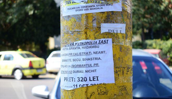 Persoanele care lipesc afişe pe clădiri şi stâlpi, amendate de poliţiştii locali - persoanelecarelipesc-1619545031.jpg
