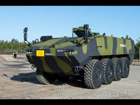 Foto: Piranha 5 pentru Armata României. Când sosesc transportoarele blindate