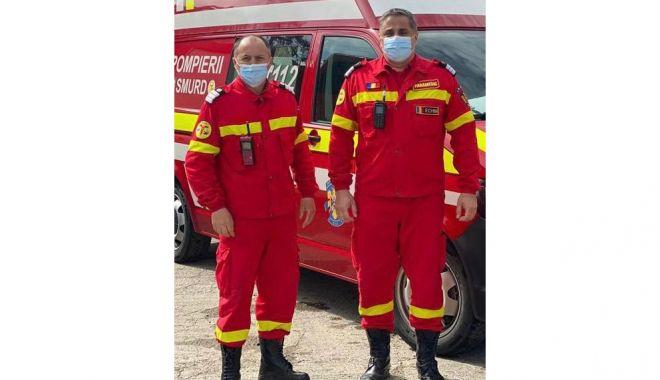 Doi pompieri de la Stația Midia, salvatori în timpul liber, la un accident rutier din Năvodari - pompieritimpliber2-1619113750.jpg