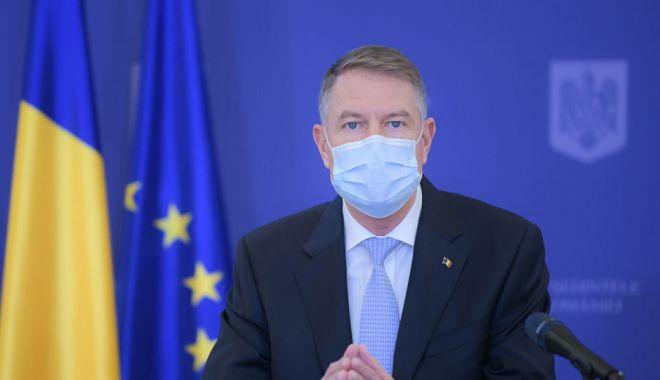 Klaus Iohannis declară că pașaportul de vaccinare ar trebui folosit în scop medical - pres-1614352663.jpg
