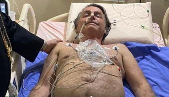 Preşedintele Braziliei, Jair Bolsonaro, internat de urgenţă - presedintelebraziliei-1626375607.jpg