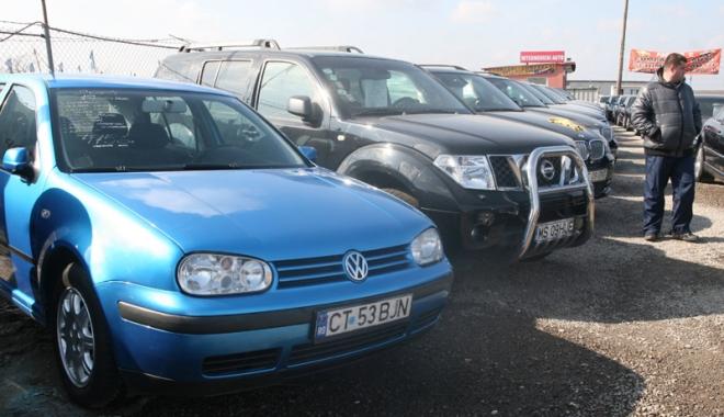 Proprietarul unui parc auto din Constanța,