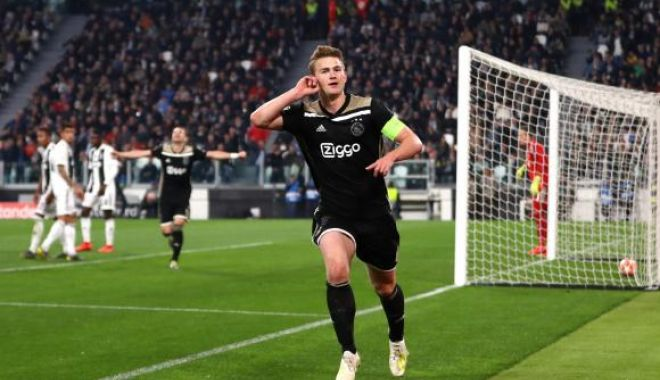 Foto: Juventus, cădere de 17% la bursă, după eliminarea din Liga Campionilor