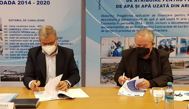 RAJA modernizează și dezvoltă reţelele de apă din Agigea şi Eforie, cu fonduri europene - raja2-1618594614.jpg
