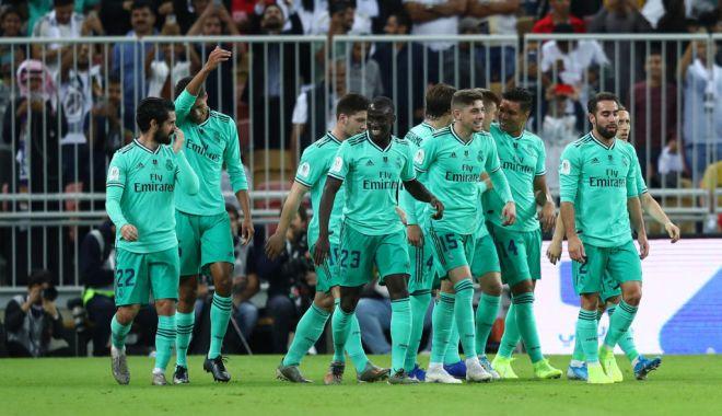 Foto: Real Madrid, calificată în finala Cupei Spaniei