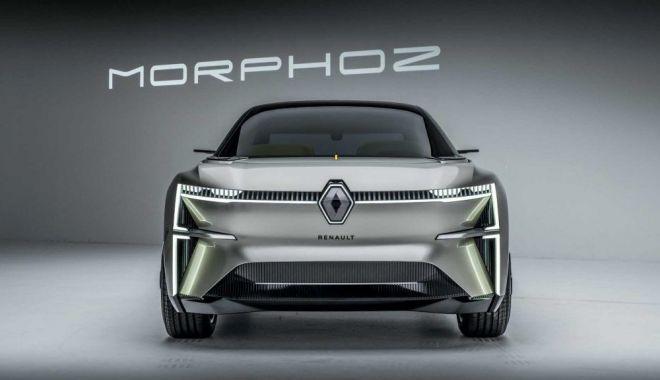 Foto: Renault a pregătit un nou concept: Morphoz