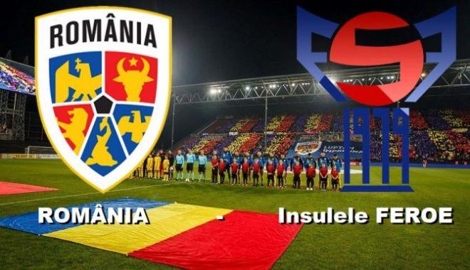 Foto: Victorie de moral pentru România în fața Insulelor Feroe