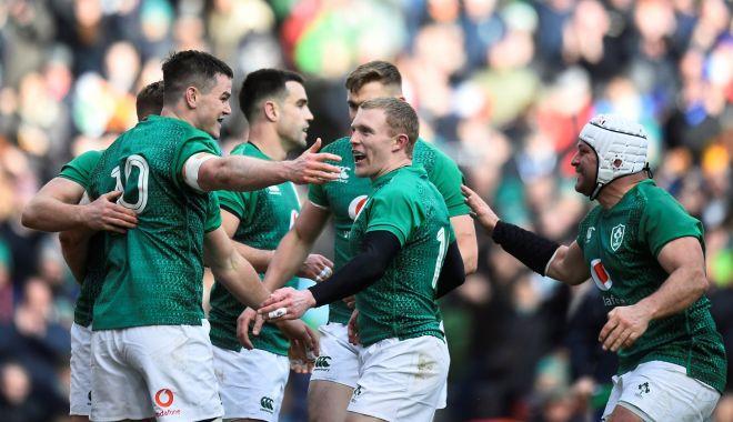 Foto: Irlanda învinge Franța, în Turneul celor Șase Națiuni, la rugby