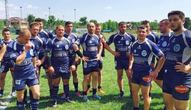 Foto: Rugbyștii de la CS Năvodari se pregătesc pentru sezonul viitor