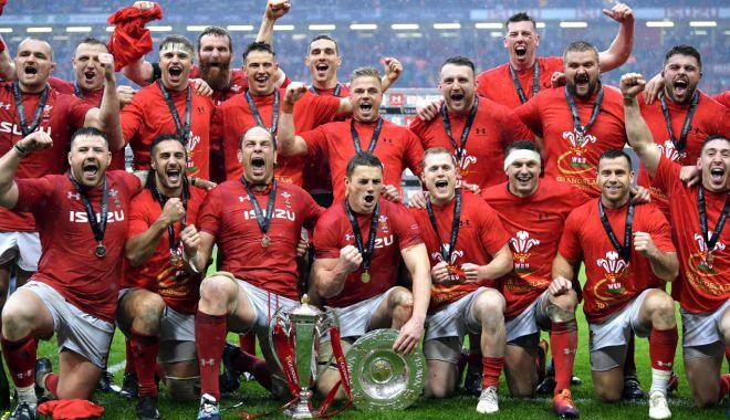 Foto: Țara Galilor a câștigat Turneul celor Șase Națiuni