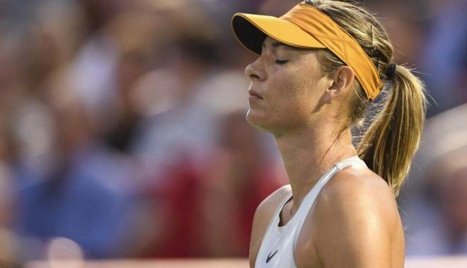 Foto: Sharapova nu se regăsește. Rusoaica, eliminată în primul tur la Brisbane