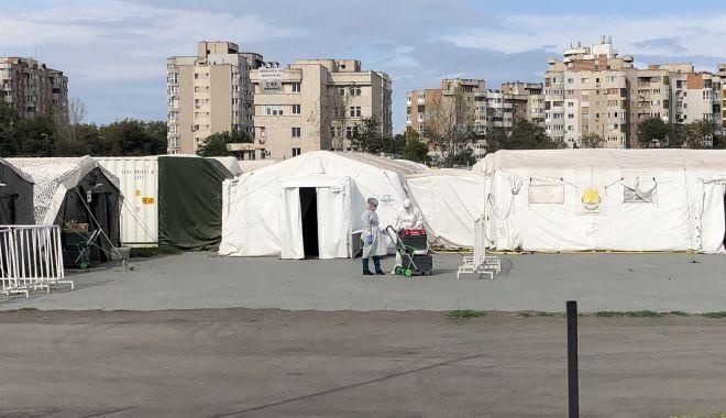 Spitalul Militar Mobil de pe stadionul Portul a devenit funcţional. Opt pacienţi suspecţi, internaţi - spitalulmillitarmobil-1601385173.jpg