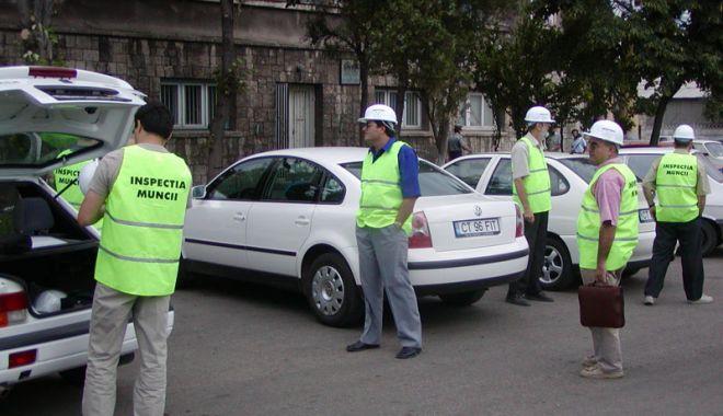 Foto: Sute de agenți economici amendați de Inspectoratul de Muncă