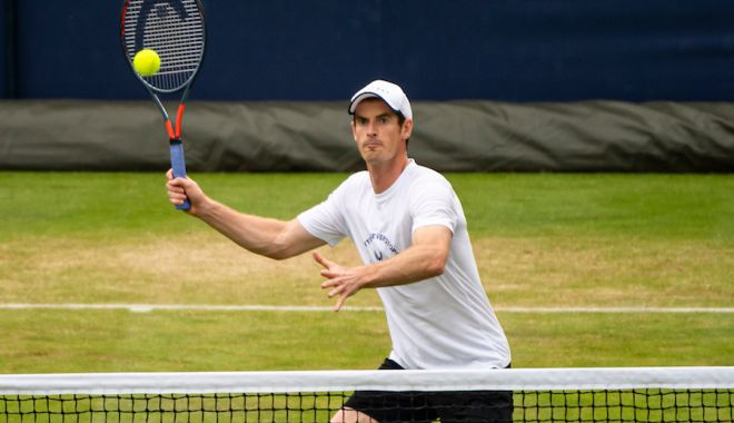 Foto: Patru staruri din tenisul mondial vor participa la un turneu virtual